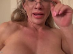Grandmother, Cougar, Mature, Milf, Babysitter, Office, Lady, Solo, Old, Mommy, Granny, At work, American