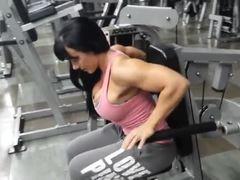 Boobs, Latex, Legs, Athletic, Bodybuilder, Muscular, Huge, Tits, Fitness, Big tits