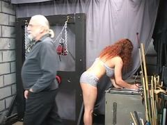 Punished, Basement, Masked, Fetish, Redhead, Lingerie, Torture, Choking, Bdsm, Maledom, Gagging, Sex, Fat, Slave, Disgrace, Boobs, Bbw, Mature, Rough, Master, Extreme, Feet, Old, Big tits, Tits, Blindfolded, Bound
