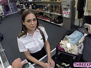 Sexy Stewardess Sex
