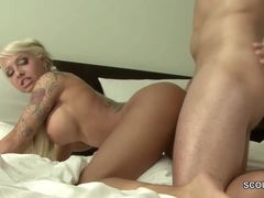 Teen, German, 69, Tattoo, European, Bitch, Cock, Deepthroat, Hardcore, High definition
