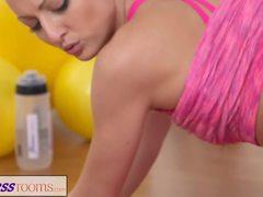 Sex, Bunny, Workout, Instruction, Babe, Athletic, Fitness, European, 1 on 1, Yoga, Gym, Blonde