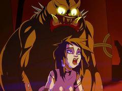 Double, Goth, Parody, Hentai, Extreme, Anime, High definition, Cartoon, Double penetration, Creampie