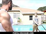 Old and young, Monster cock, Daddy, Uncle, Father-in-law, Taboo, Not son, Big cock, Twink, Bareback, Outdoor, Public, Gay, Cock, Blowjob