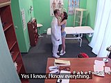 Adorable doctors enjoy fucking the hot patients