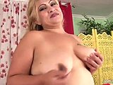 Blonde, Masturbation, Mature, Fat, Bbw, Solo, Mommy, High definition, Chubby, Toys