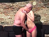 Dad and girl, Teen, Cute, Grandfather, Wet, Beautiful, Young, Old, High definition, Cock, Sucking, Hardcore, Blowjob