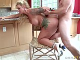 Hairless, Ass, Doggystyle, Milf, Big tits, Boobs, Mother-in-law, Tattoo, Bent over, Mommy, Cowgirl, Blonde, Young, Fake tits, Shaved, Tits, Cock, Big cock, Monster cock, Riding